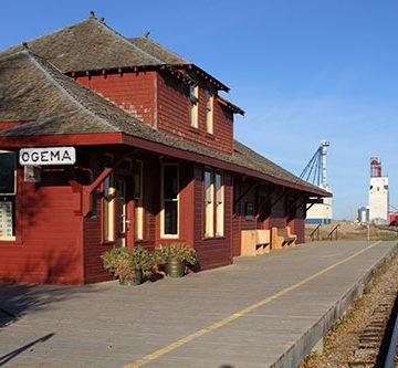 The last train to Ogema