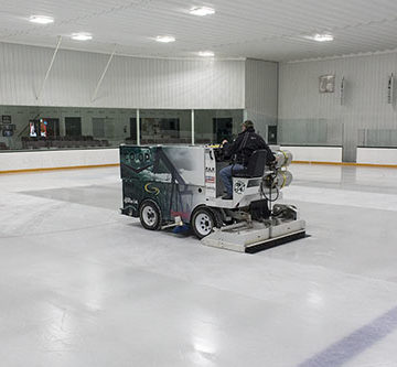 Vortex treatment promises better rink ice with energy-saving cold water process