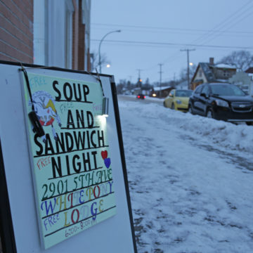 Cold snap brings warmth to North Central lodge