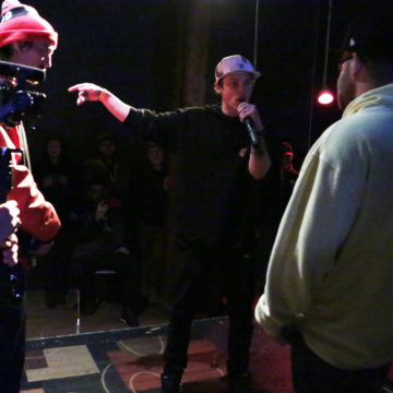 My night at the rap battle and an innovative grant