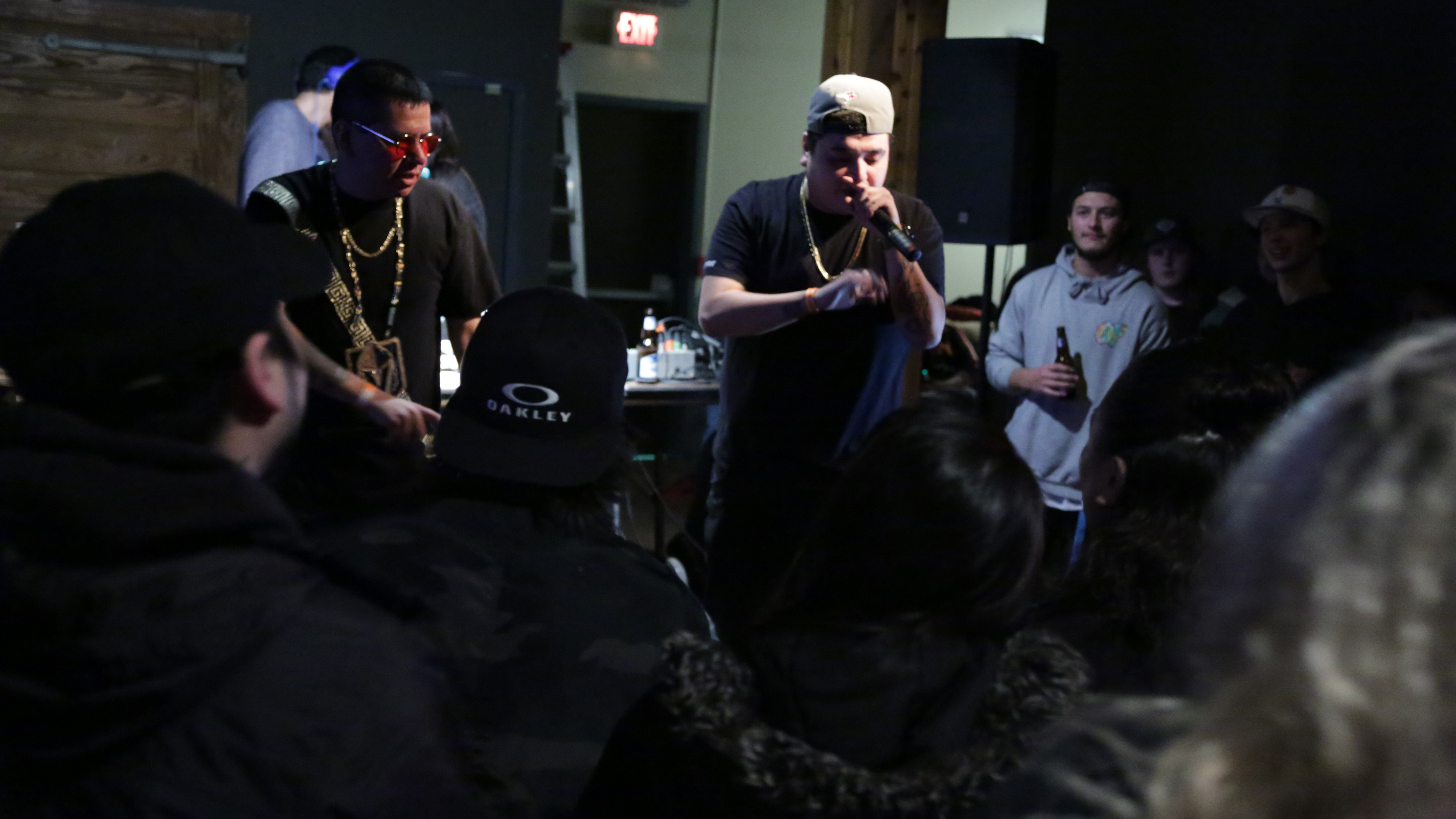 My night at the rap battle and an innovative grant - INK