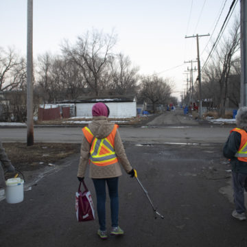 White Pony cleanup discovers hundreds of used needles