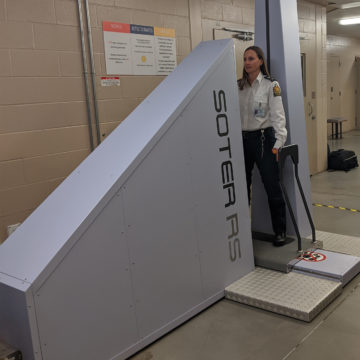 The Regina Correctional Centre adds body scanner to security system to limit contraband in facility.