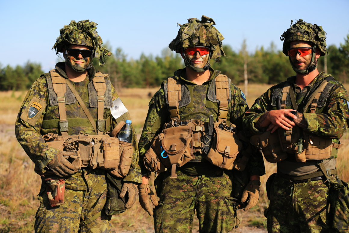 Canadian-led NATO mission in Latvia meant to deter, support. Take a look beyond the barbed wire
