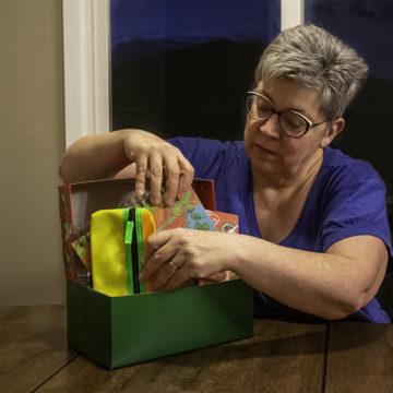 Sharing Christmas through a shoebox
