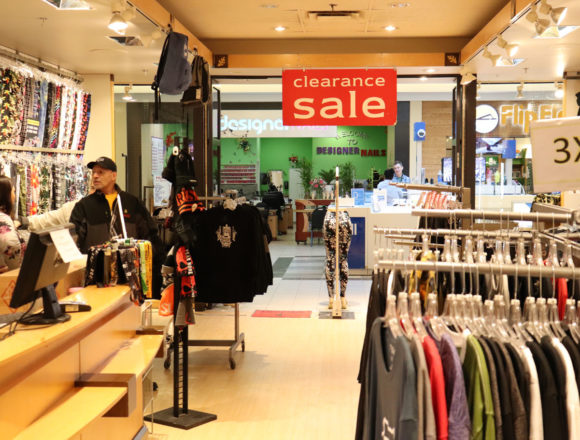Clearance Sale on Regina stores