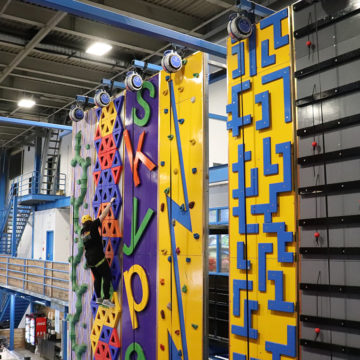 New indoor amusement park soars high above the rest