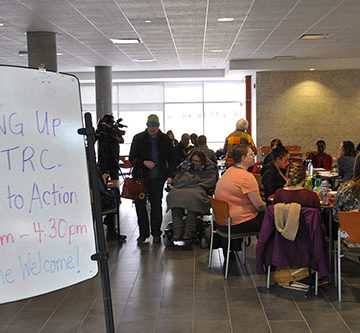 Taking up the TRC call to action at the University of Regina
