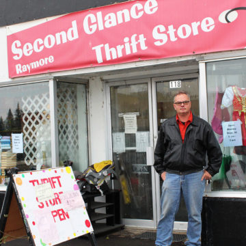 Second-hand store owner giving community new life