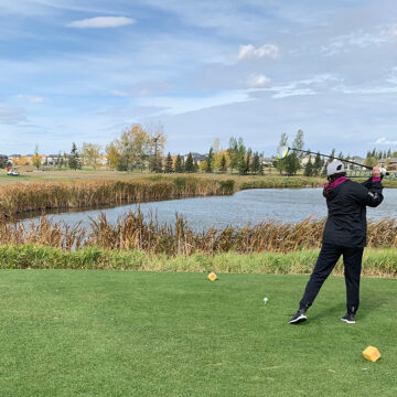 Golfers galore at Goulet