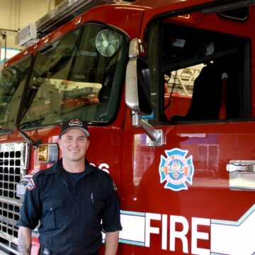 Alberta firefighter speaks on the importance of brotherhood and mental health awareness
