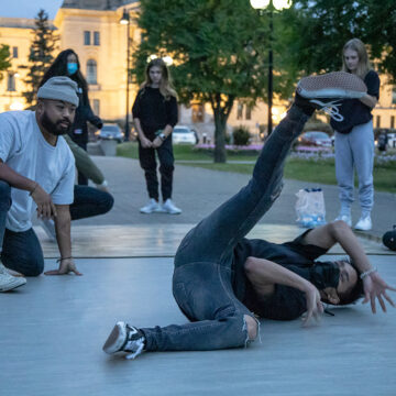 Local dance group pumps good vibes into the heart of YQR community